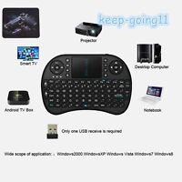 Mini Wireless Keyboard 2.4G with Touchpad Handheld Keyboard Lot BR