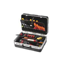 Parat Werkzeugkoffer 485.020-171 mit Einsteckfächern, schwarz (ohne Inhalt)