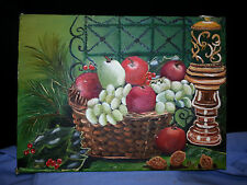 Oil on Canvas o/c 9x12 Still Life artist Dottie Smith