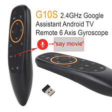 Air Mouse Wireless Remote Google Voice Command Control For Smart TV/TV Box/PC