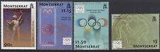 Montserrat: giochi olimpici del 2004, Atene Set sg1248-51 MNH