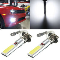 1 x H3 COB LED 12V Bright Xenon White 6000K Car Auto Fog Light Lamp Bulb