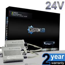 24v 55w H4 Smart Canbus Xenon Slim HID Kit Headlight Bulbs Error Free HGV Truck