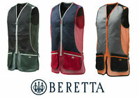 Beretta Silver Pigeon Skeet Vest GT031 Shotgun Clay Pigeon Trap All Sizes