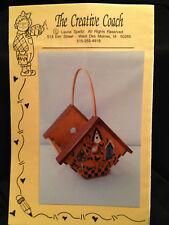 Pattern Birdhouse Basket Tole Painting Instructions Creative Coach 1996