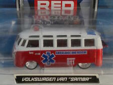 VW Volkswagen AllStars Samba Bus Ambulance Maisto Exclusive 100 1/64