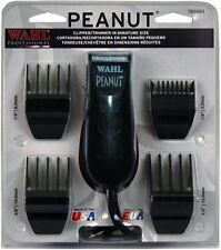 WAHL PROFESSIONAL PEANUT BLACK Hair Trimmer Clipper 8655-200 Palm Size