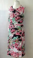 schönes Gerry Weber Kleid Gr. 48 Damenkleid Jerseykleid Sommerkleid Etuikleid
