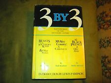 3 by 3 - Masterworks of Southern Gothic - Signed by Grau, Steadman & Betts HB/DJ