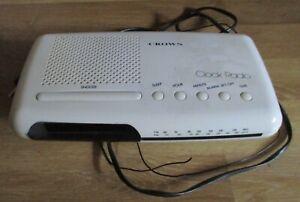 Radiowecker CROWN Japan CR-68 Clockradio vintage Radio Wecker ca 70er Jahr