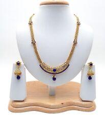 NUOVO indiano asiatico BRIDAL tradizionale gioielli etnici Wear POLKI Collana Set