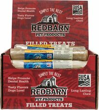 Redbarn Chicken Filled Rolled Rawhide Dog Treats, 6-in chew, Free Shipping