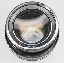 Carl Zeiss 50mm f1.8 Ultron Nikon mount  #7218233