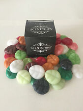 SOY WAX MELTS - ORIGINAL SCENTCHIPS - BOX OF 10  -  CHOICE OF FRAGRANCES