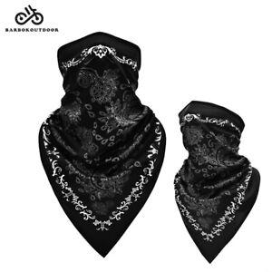 Adult Balaclava Breathable Face Mask Neck Gaiter Bandana Cover Scarf Washable
