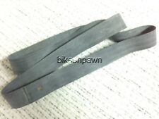 """New Heavy Duty 17"""" Rubber Rim Strip for Center Valve Stem / Motorcycle 30mm Wide"""