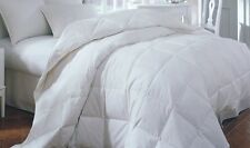 King White Down Feather Comforter Bedding Blanket Baffle Heavy Oversize 108oz FP