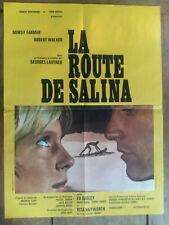 Affiche LA ROUTE DE SALINA Georges LAUTNER Mimsy FARMER Robert WALKER 60x80cm
