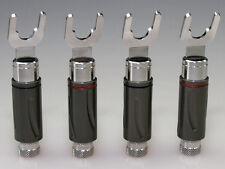 HighEnd-Serie Kabelschuhe 6-8mm RHODIUM ( 4 Stück)