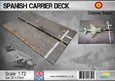 Coastal Kits 1:72 Scale Spanish Carrier Deck Display Base