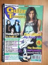 Guitar Techniques magazine Sept 1994 - Thin Lizzy Beatles Paul Gilbert ++