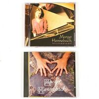 *Signed* 2 CD Lot - Margo Hennebach - Self Titled & Michaelean