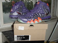 Nike Air Barkley Posite Max Chuckposite Phoenix Suns Purple Orange cb 555097 581