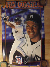 MLB Baseball Poster ~ Juan Gonzalez Detroit Tigers