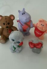1990 Merry Miniatures Valentine Complete Set Of Five (5).New