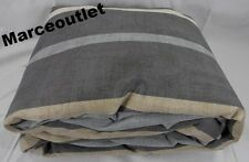 Hotel Collection Colonnade 100% Cotton KING Duvet Cover Gray