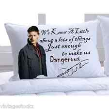Supernatural Dean Winchester Personalized Polyester Pillow Cases Cover RP Sign
