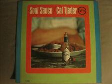 CAL TJADER SOUL SAUCE LP ORIG '65 VERVE V-8614 LATIN SOUL JAZZ VG/VG+