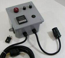 Temperature Controller - Wall Mount Control Panel - Thermocouple Controller