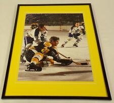 Bobby Orr Bruins vs Maple Leafs Framed 11x14 Photo Display
