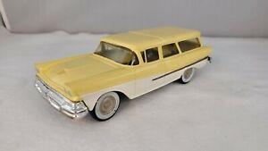 Tru-Miniature 1958 Ford Country Sedan Wagon Promo Model Car