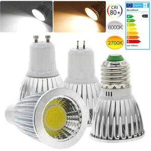 1/4/6/10x GU10 E27 E14 LED Bulb COB Spotlight Downlight 9/12/15W Cool Warm White