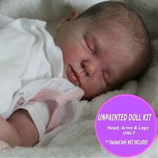 Reborn- Baby Rose - Doll kit to make your own sweet baby soft vinyl -  unpainted