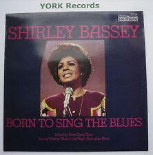 Shirley esposa-nació para cantar el blues-ex con contorno Disco Lp 6870 568