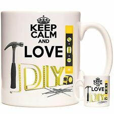 DIY, DO IT YOURSELF Mug Can be personalised. Father's Day Gift, Dad's Present