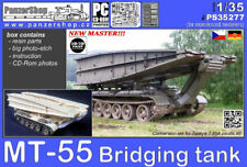 MT-55 Bridging Tank resin conversion 1/35 PanzerShop PS35277 Warsaw pact