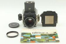 🔹Almost MINT🔹 Zenza Bronica S2A + Nikkor P 75mm f2.8 + 6x6 Film Back Japan