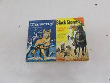 * 2  Thomas C Hinkle Black Storm 1957 TAB Pb, Tawny 1956 TAB pb