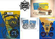 Honda CR 125 90-97 Mitaka Bottom End Engine Rebuild Kit Rod Mains Gasket Seal