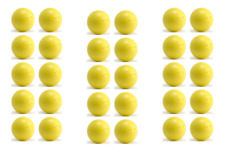 30 balles baby-foot pro compétition ITSF B  homologuées BONZINI