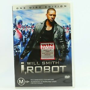 I, Robot (DVD, 2004) Will Smith Good Condition Free Tracked Post