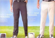 Lange bequem sitzende Herrenhosen mit normaler Größe
