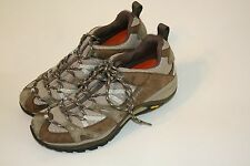 Merrell Continuum Trainer Woman's Olive Athletic Hiking Walking Shoes 8 Vibram