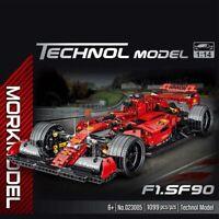 Lego MegaBloks Technic☆Compatibil100% 1099pz☆ MOC FERRARI FORMULA 1 FS90 ☆ ►NEW◄