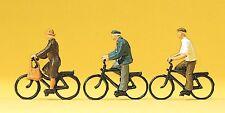 Preiser 10333 Elderly Cyclists 00/H0 Model Railway