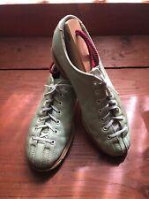 Vintage Hyde Bowling Shoes Mint Green Split Toe Goodyear Welt R Hand S7 Fabulous